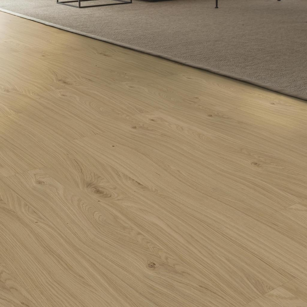 Room scene living room wood floor Veneer Parquet AE0AB0 Oak Solid LM
