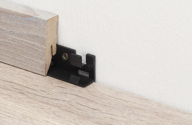 Mounting clips for Skirting Boards