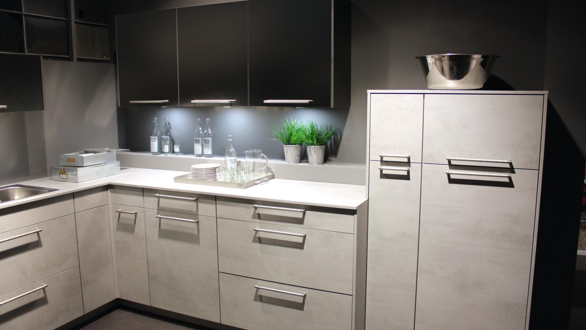 44406 DP Beton Art Weiß - Platte | KAINDL