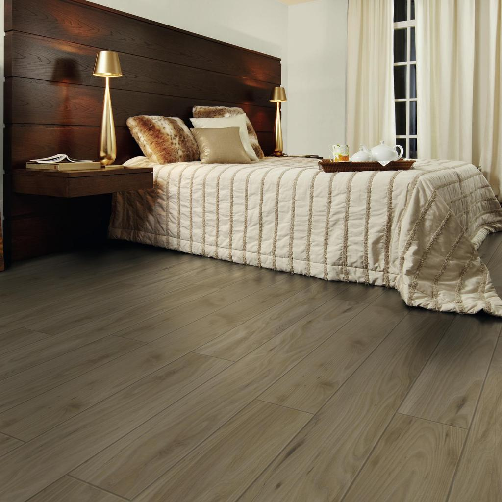 immagine d'interno camera da letto Laminate flooring Easy Touch O021 Olmo Landhouse LM-S